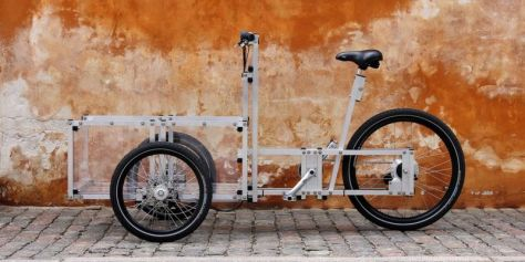 Erector set meets bicycle